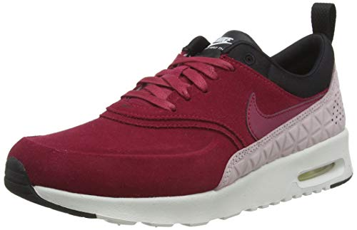 Nike Damen WMNS Air Max Thea Premium 845062-6 Sneaker, Rot (Burgundy 845062-600), 38 EU