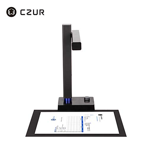 CZUR Shine800 Pro Portable A4 Document Scanner USB 2.0 Fast Scanner with OCR Function for MacOS and Windows