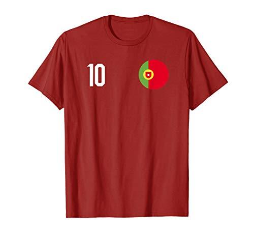 Portugal Team Football Jersey T-Shirt