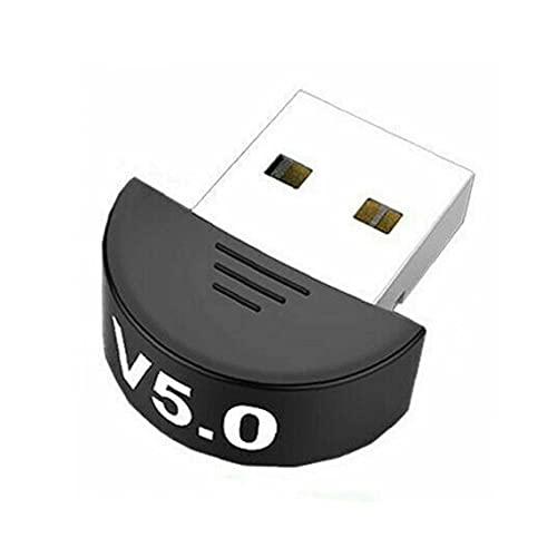 Adaptador Bluetooth 5.0 Bluetooth USB Dongle Receptor de transmisor Bluetooth inalámbrico para audio TV PC Herramientas negras gratis
