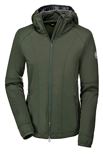 PIKEUR Damen Softshell Jacke METTE CLASSIC Collection Herbst-Winter 2019/2020, thyme, 36
