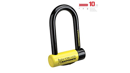 Kryptonite New York FAHGETTABOUDIT Lock - Amarillo, Mini