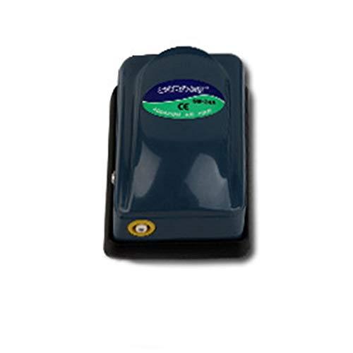 DALADA Sauerstoffpumpe für Aquarium, Superleise Aquarium Luftpumpe, Leistungsstark Sauerstoffpumpe, Einzel/Doppelauslass, Aquarienzubehör 220V 3W 5W