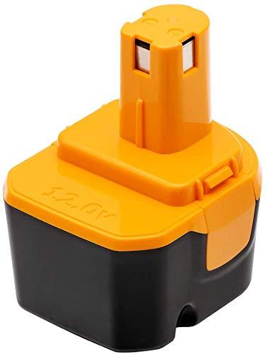 Akkopower バッテリー リョービ B-1203F2 12V 3.0Ah リョービ互換バッテリー B-1203 1203C B-1203F3 B-1203M1 BPL-1220 B-8286 BPT1025 RY-1204リョービ12vバッテリー 電池パック 互換バッテリー ニッケル水素電池(一個)