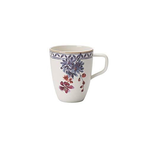 Villeroy & Boch - Artesano Provencal Lavendel Kaffeebecher, Tasse in stilvollem Lavendel aus Premium Porzellan, spülmaschinenfest, 380 ml
