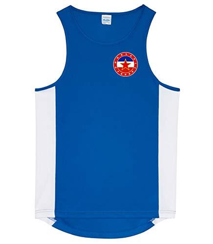 Nation Jugoslawien Trikot Tank Top Athletic Sport Gym ATH FH-BL (L)