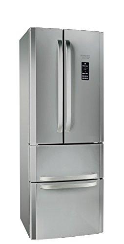 Hotpoint E4DG AAA X O3 Side-by-Side A++ / 195,5 cm Höhe / 295 kWh/Jahr / 291 Liter Kühlteil / 110 Liter Gefrierteil / Activ-Oxygen-Technologie / NoFrost