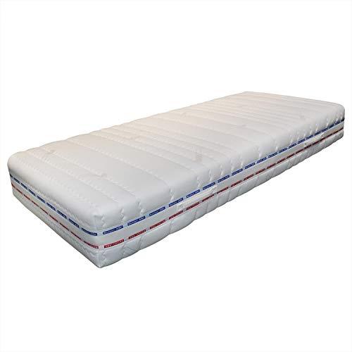 Betten-ABC OrthoMatra XXL-TFK, 7-Zonen Matratze, Härtegrad H4, mit Cool Life®-Bezug Größe 140x200