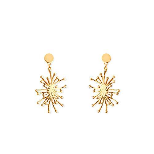 DFDLNL Earings Holiday Fireworks Pendientes de tuerca para mujeres delicadas pendientes de perlas