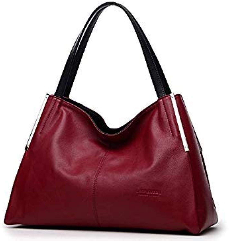 Bloomerang LAORENTOU Women's Bags Shoulder Bag Genuine Leather Women's Handbag Tote Bag Ladies Purse Fashion Valentine's Day Present color 938J004L1C
