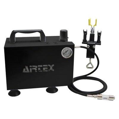 エアテックス エアテックス コンプレッサー エアーセット BOXセレクション ブラック ※取寄品 ASB-F-2