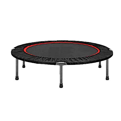 SXDE Mini Fitness Exercise Trampoline, Rebounder Trampette,Cardio, Weight Loss - Foldable,for Gym and Indoor Workout for Kids/Adults