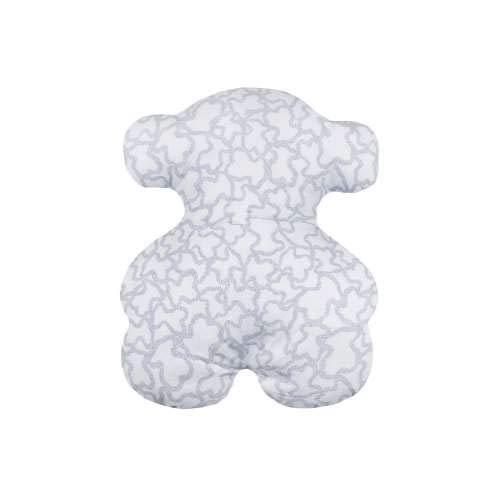 TOUS BABY - Cojín Decorativo en Forma de Oso de la colección Kaos para tu Bebé. (Oso Celeste)
