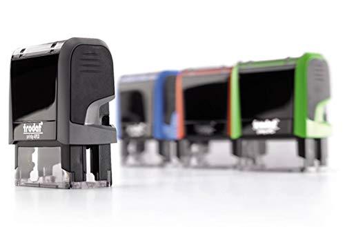 Stempel Trodat Printy 4912 (47x18 mm), für 5 Zeilen, in verschiedenen Farben, gleich Online gestalten!!! (grau)