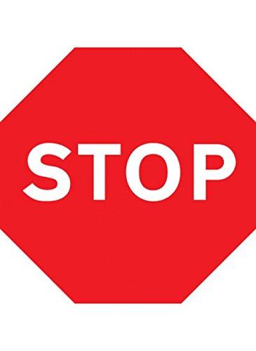 Caledonia Signs 17507N Señal de stop, plástico rígido, 40