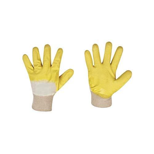 12 Paar STRONG HAND Latex Arbeitshandschuhe Gr.10 Schutzhandschuhe Handschuhe