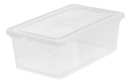 IRIS USA, Inc. CNL-6 6 Quart Clear Storage Box