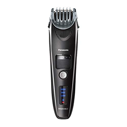 Panasonic Beard Trimmer for Men Cordless Precision Power, Hair Clipper with Comb Attachment and 19 Adjustable Settings, Washable, ER-SB40-K $50