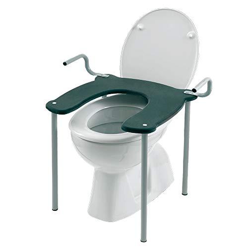 Inbagno Rialzo WC e Bidet Universale con Struttura in Acciaio Portata 100 kg.