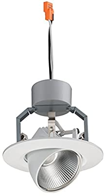 "Lithonia Lighting 3IGMW LED 27K 90CRI M6 530 lm 2700K LED iGimbal Module, 3"", Matte White"