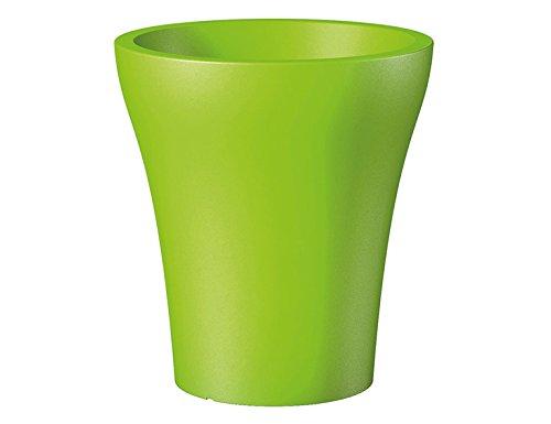 Scheurich 55459 264/43 No1 Style High Pot de Fleurs Plastique Pure Lime 39 x 39 x 43 cm