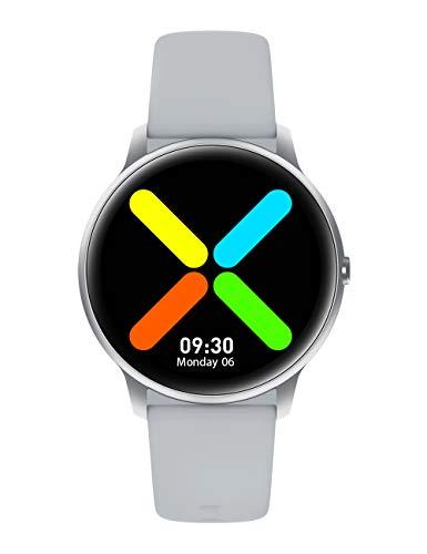 YAMAY Smartwatch Donna Uomo Orologio Fitness Cardiofrequenzimetro da Polso Smart Watch Activity Tracker Contapassi Conta Calorie Cronometro Centinaia di Quadranti Impermeabile IP68 per iPhone Android
