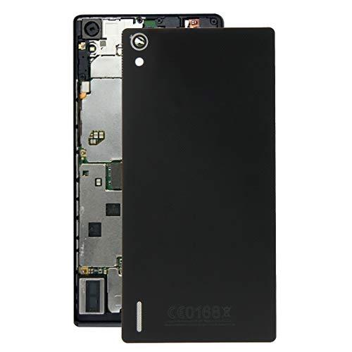 Tapa Trasera Original de la batería, Tapa de Batería para Huawei Ascend P7 PH (Negro) (Color : Black)