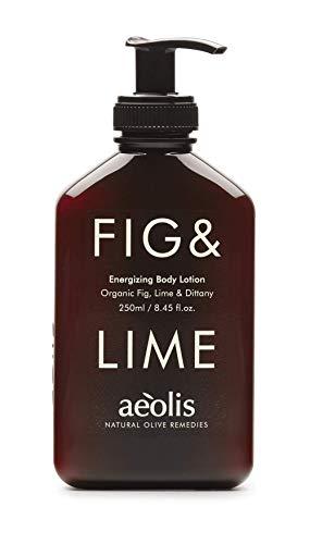 AEOLIS Skincare | FIG&LIME Energizing Body Lotion | Feige, Limette & Diptam | Belebt und erfrischt die Haut | 100% natürlich | Ohne künstliche Zusätze (Fig&Lime, 250ml)