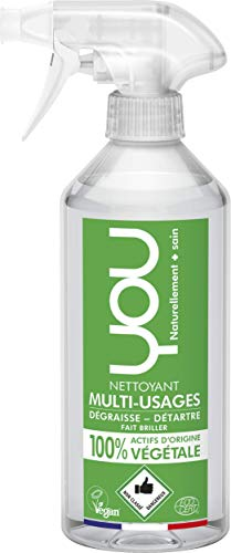 YOU 31501109 Spray detergente Multiuso vegetale, Verde, 500 ml