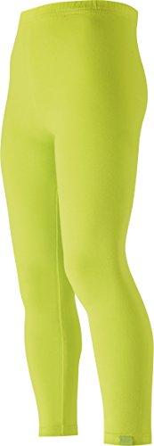Playshoes Mädchen lang uni Legging, Grün (grün 29), (Herstellergröße: 110)