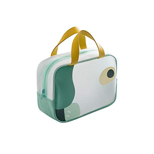 Translucide TPU cosmétique sac portable portable cosmétique sac de rangement articles de toilette grande capacité-L