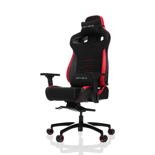 VERTAGEAR Gaming Ergonomic Computer Coffee Fiber High Back Executive Chairs, Black/Red