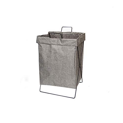 Shocly Cesto para Ropa Plegable Asas BañO Organizador Material paño,Gray