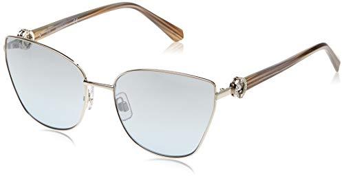 Swarovski SK-0167-16X Gafas de sol, Plata, 59 para Mujer