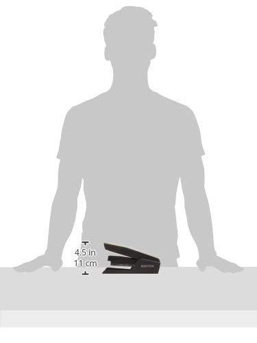 Bostitch EZ Squeeze 50 Sheet Desktop Stapler, Reduced Effort, Black (B850-BLK) Photo #2