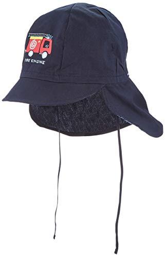 maximo Jungen Nackenschutz Mütze, Blau (Navy 48), (Herstellergröße: 51)