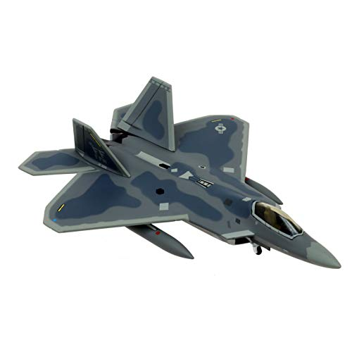 Hogan Wings 10824Maquette Aereo F-22A, USAF, 27th FS, 1st FW, Langley AFO Base..., Metallo