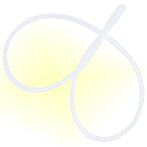 Milchschlauch Schlauch 3mm / 6mm , 2 Meter lang, für Vollautomaten von Jura (Jura.Spez.) ENA und Impressa Kaffeevollautomaten , DeLonghi , Seaco , Nivona , Krups , AEG , CAFE BONITAS und Andere 3mm innen 6mm aussen. 2 Meter lang, von Holzhäuser.