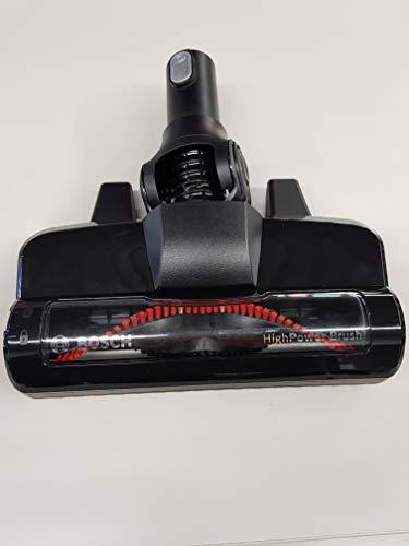 Bosch 17002491 - Cepillo eléctrico original negro para escoba Unlimited 8 Mod BBS1 BBS8 BCS1 BSS1.