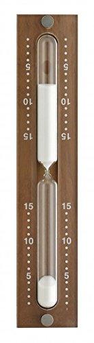 Sauna-Sanduhr Hemlock weiß, KB-TFA