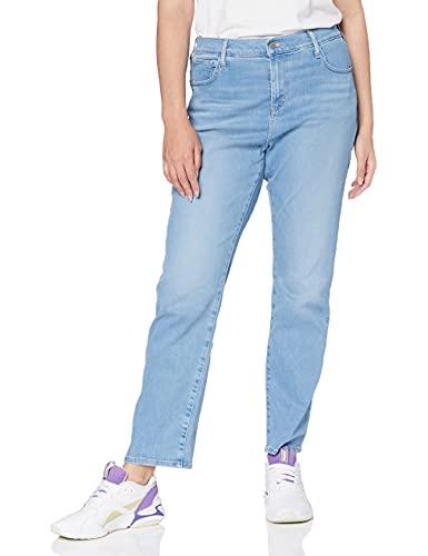 Levi's Plus Size 724 Pl HR Straight Jeans, Rio Aura Plus, 44 Medium para Mujer