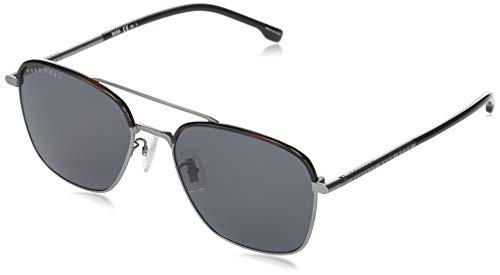 Hugo Boss Gafas de Sol BOSS 1106/F/S RUTHENIUM BLACK/GREY 58/19/145 hombre