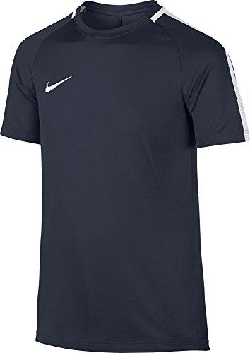 Nike Y NK Dry Acdmy SS T-Shirt à Manches Courtes pour Enfant L Bleu (Obsidian/White)