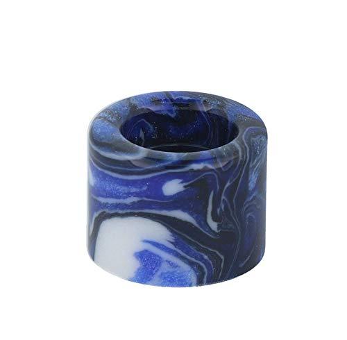 Smok TFV18 Tank Mundstücke - Drip Tips, Mundstücke für E Zigarette Verdampfer - Farbe: blau-schwarz)