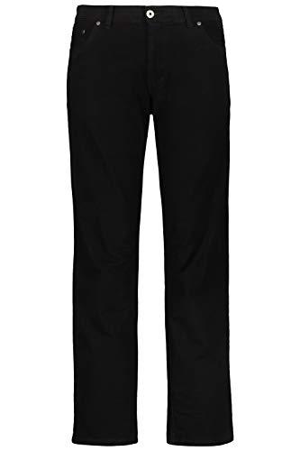 JP 1880 Herren große Größen bis 70, Hose, Komfortbund, Regular Fit, Stretch, Baumwolle, 5-Pocket-Form schwarz 62 702613 10-62