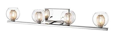 Z-Lite 905-4V 4-Light Vanity, Clear