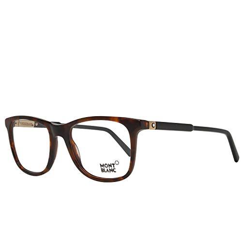 Montblanc Optical Frame Mb0637 056 52 Monturas de gafas, Marrón (Braun), 52.0 para Hombre