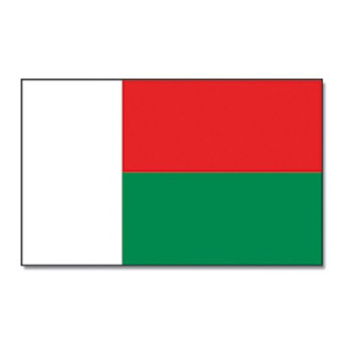 Madagaskar Fahne groß 90x150cm-one size