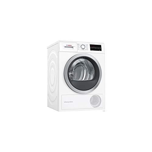 Bosch Serie 6 WTW87499FF sèche-linge Autonome Charge avant Blanc 9 kg A - Sèche-linge Pompe à chaleur, Blanc, Panier à laine, kit...