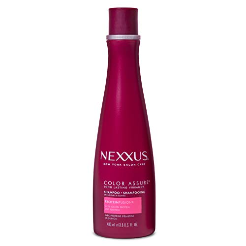 Nexxus Hair Color Assure Sulfate-Free Shampoo For Color Treated Hair with ProteinFusion, Color Shampoo 13.5 oz